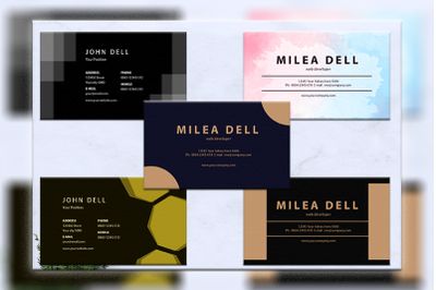 Business cards bundles 5 concept vol. 13