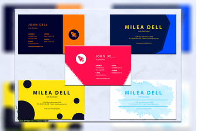 Business cards bundles 5 concept vol. 14