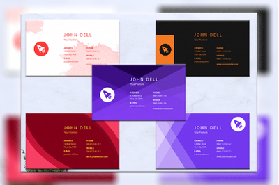 Business cards bundles 5 concept vol. 15
