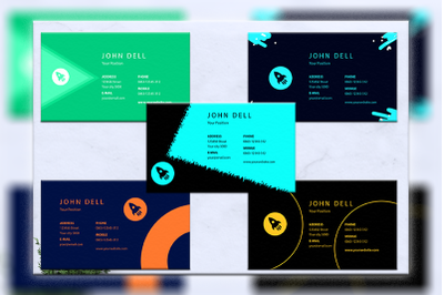Business cards bundles 5 concept vol. 16