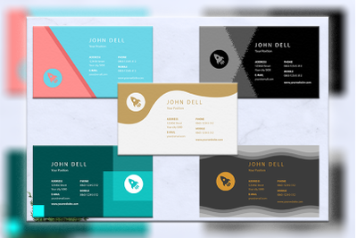 Business cards bundles 5 concept vol. 18