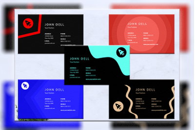 Business cards bundles 5 concept vol. 19