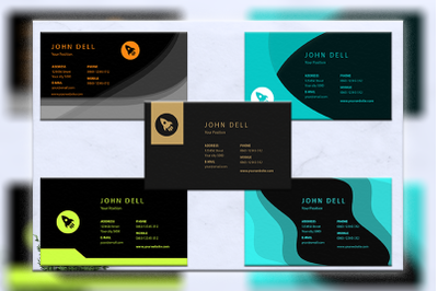 Business cards bundles 5 concept vol. 20