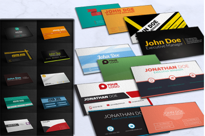 Business cards bundles 25 concept only 1$