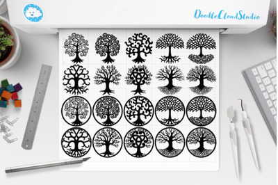 Tree of Life SVG, Tree Svg, Tree of Life Clipart.