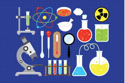Science Rocks-Digital Clipart (LES.CL63)