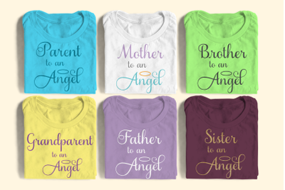 Family to an Angel Set | SVG | PNG | DXF | EPS