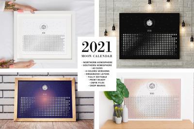 Moon Calendar 2021