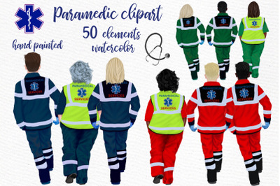Paramedic clipart First Responders clipart Medical clipart