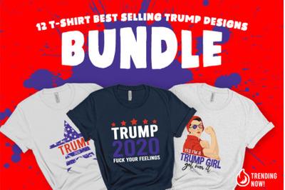 12 Trump 2020 Bundle SVG