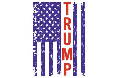 Trump America Flag