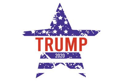 Star Trump 2020 America