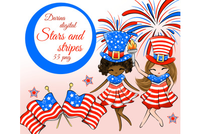 USA day clipart