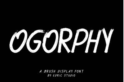 Ogorphy