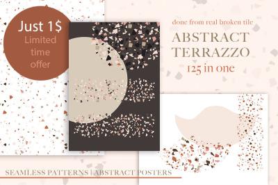 Terrazzo Abstract Bundle. SALE!!!