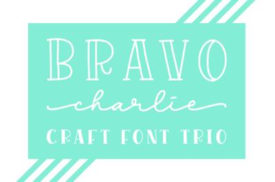 Bravo Charlie - Font Trio -