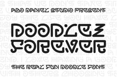 Doodlez Forever - Real Doodle Font -
