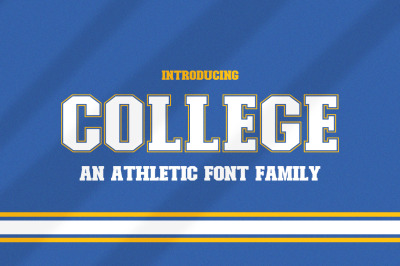 College Font Family