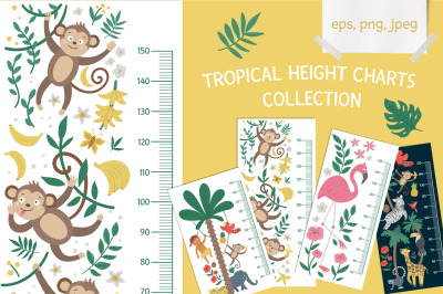 Tropical Height Charts Collection