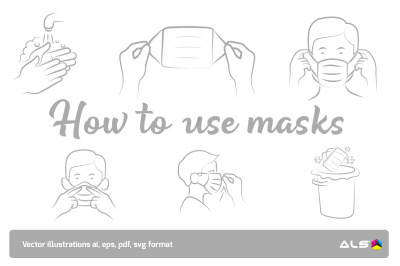 How to use the face mask
