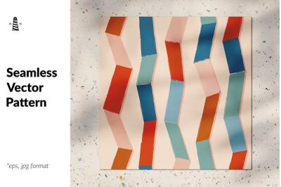 Vertical stripes seamless pattern