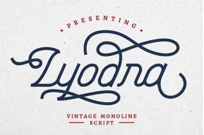 Lyodra - Modern Vintage Script