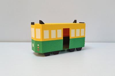 DIY Melbourne Tram - 3d papercraft