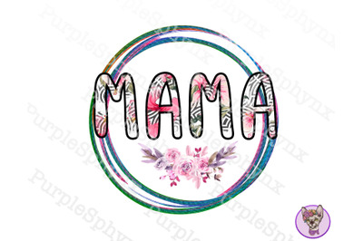 Mama png | Png file for sublimate | Mother's day png