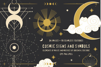 Cosmic signs and symbols