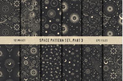 Space pattern set. Part 3