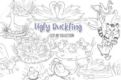 Ugly Duckling Digital Stamps