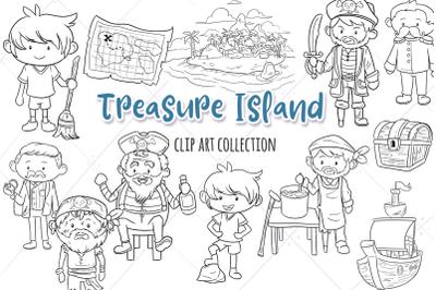Treasure Island Digital Stamps