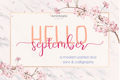 Hello September - Modern Paired Duo