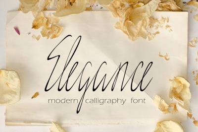 Elegance Script - otf, ttf