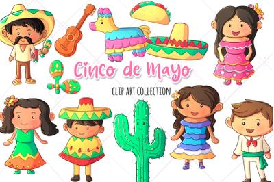 Cinco de Mayo Clip Art Collection