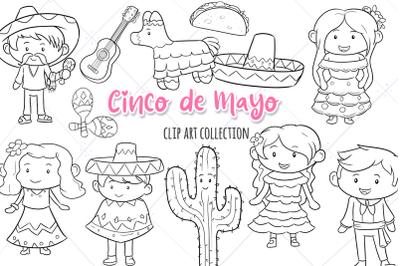 Cinco de Mayo Digital Stamps