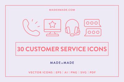 Line Icons  Customer