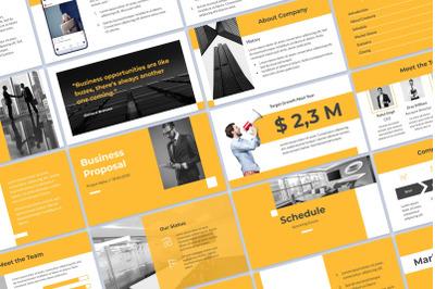 Business Presentation Google Slides
