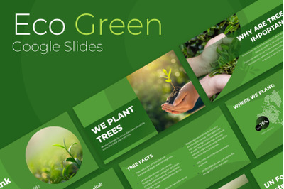 Eco Green Presentation Google Slides