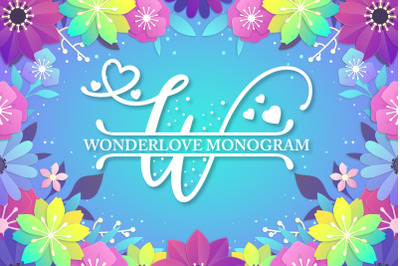Wonderlove Monogram