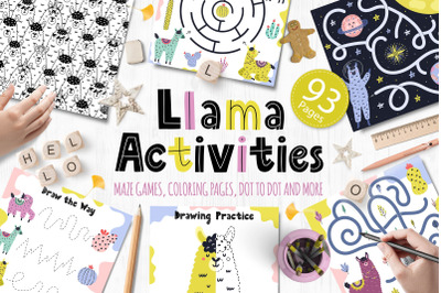Llama Activities Collection