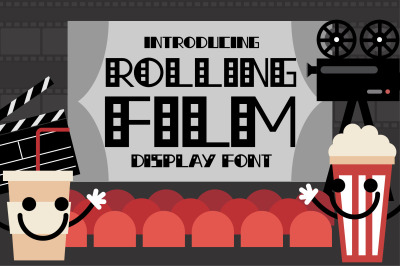 Rolling Film Font
