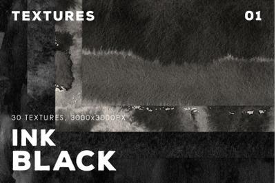 Ink Black Textures Vol.1