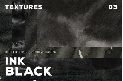Ink Black Textures Vol.3