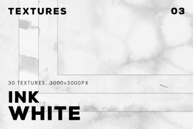 Ink White Textures Vol.3