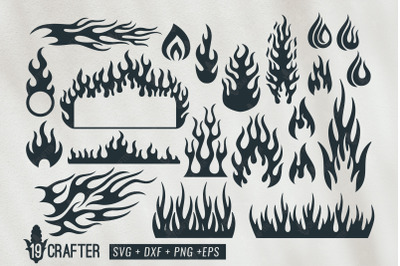fire flame and fire tribal svg bundle