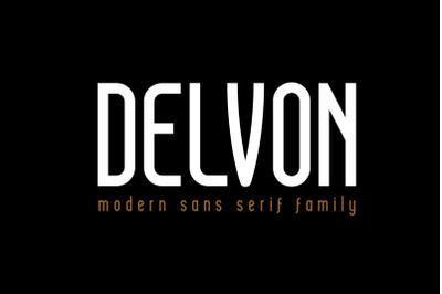 Delvon - Modern Sans Serif