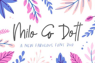 Milo & Dott Font Duo