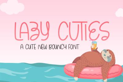Lazy Cuties Font