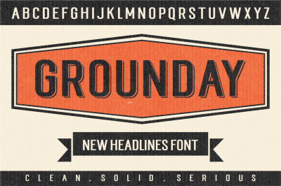 Grounday Font